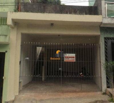 Sobrado Residencial À Venda, Parque Monte Alegre, Taboão Da Serra - So2121. - So2121