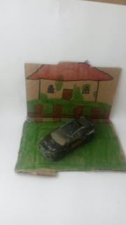 Diorama Carro Abandonado