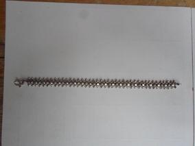Pulseira Prata Bali 925 17 Gramas 19 X 0,9 Cm 35