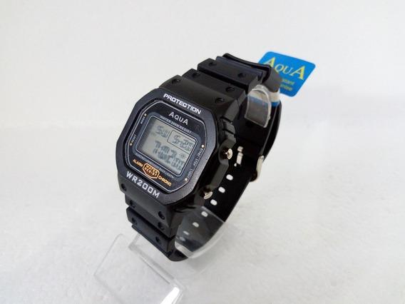Relógio Digital Masculino Aqua Bolsonaro Presidente Original