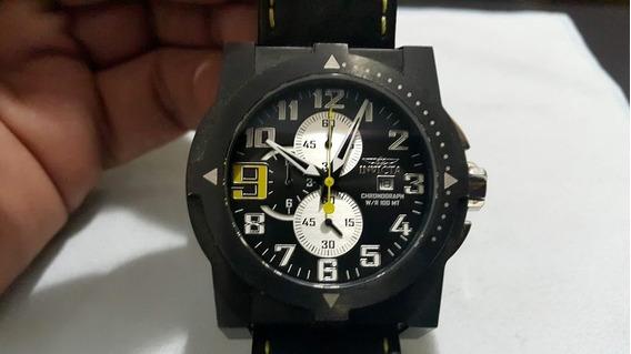 Relógio Invicta 5518 Speedway Cronógrafo Preto Original Raro