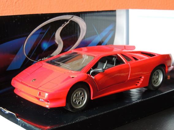 Miniatura Lamborghini Diablovermelho1:24maisto