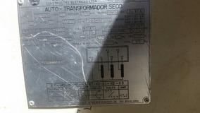 Vendo Auto Transformador Trifásico 220/380 Volts 18 Kva