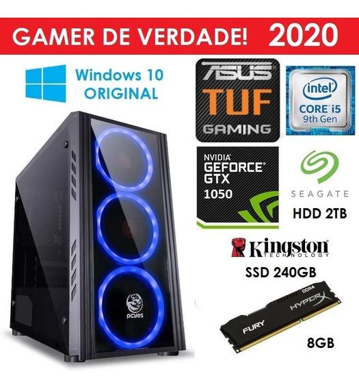 Pc Gamer Win10 Orig + Core I5 9400f 8gb + Ssd 2tb + Gtx 1050