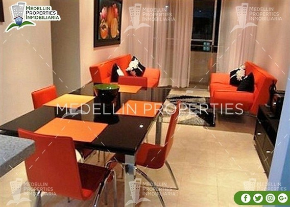 Apartamentos Y Casas Amobladas Por Dias En Medellin Cód:4008