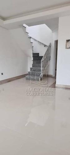 Cobertura Com 2 Dormitórios À Venda, 98 M² Por R$ 600.000 - Campestre - Santo André/sp - Co4336