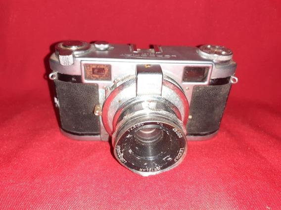 Antiga Câmera Fotográfica Alemã Lordomatic Ñ Leica