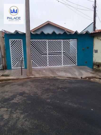 Casa Com 2 Dormitórios À Venda Ou Locação 70 M² Por R$ 280.000 - Balbo - Piracicaba/sp - Ca0156