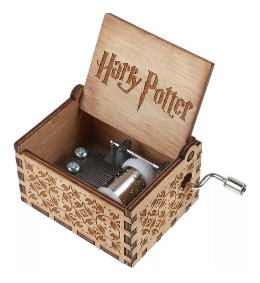 Caixinha De Música Harry Potter Premium - Pronta Entrega
