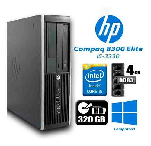 Imagem 1 de 3 de Desktop Hp 8300 Core I5-3330 + Monitor 19' + Teclado E Mouse