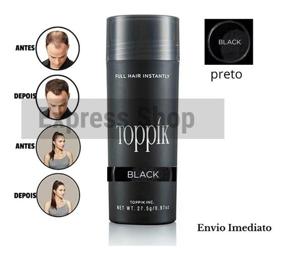 Toppik Hair 27.5g Maquiagem Para Calvicé Pronta Entrega