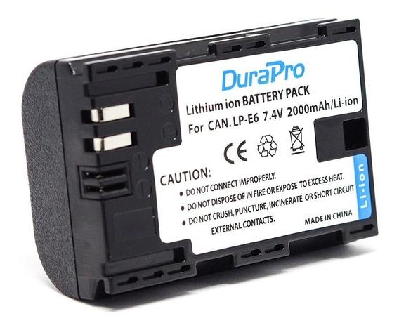 Bateria Canon Lp-e6 Lp-e6n P/ 7d 60d 70d 5d 80d +nf