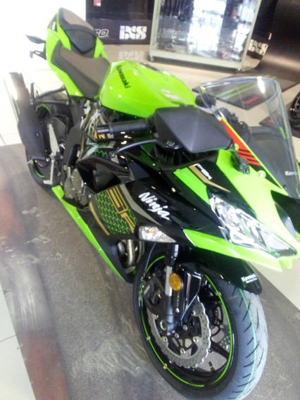 Kawasaki Ninja Zx6r 636 Abs Krt Verde Lima 2020