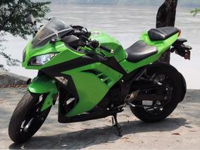 Moto Ninja 300 Verde - Original - Todo Al Día