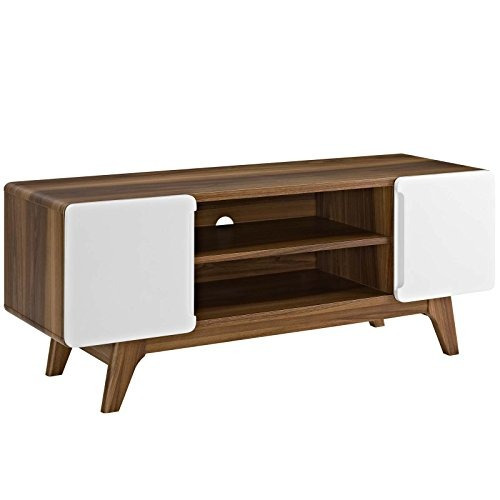 Modway Tread Mid Century Modern 47 Inch Tv Stand In