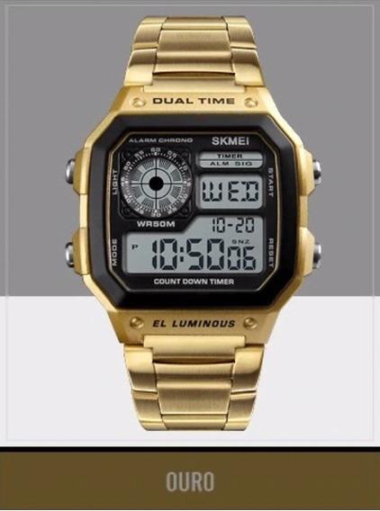 Relógio Masculino Militar Skmei