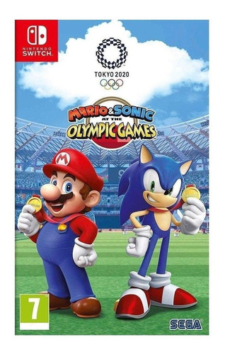 Imagen 1 de 5 de Mario & Sonic at the Olympic Games: Tokyo 2020 SEGA Nintendo Switch  Físico