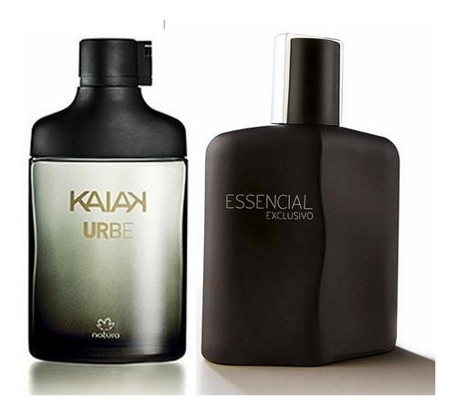 Perfumes Masculinos Kaiak Urbe + Essenc - mL a $374