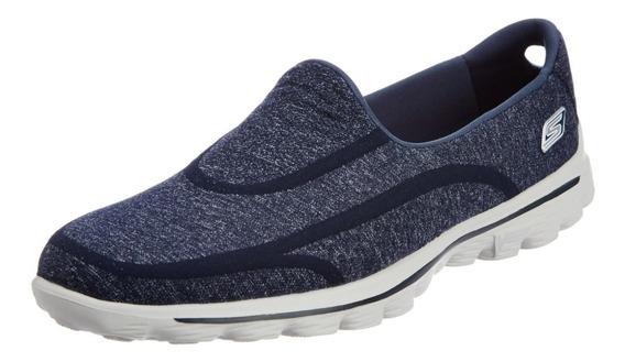 Tênis Feminino Skechers Go Walk 2 E Gw2 Super Sock Caminhada