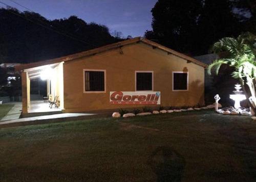 Chácara Com 4 Dormitórios À Venda, 1700 M² Por R$ 1.000.000,00 - São Bento - Arujá/sp - Ch0110