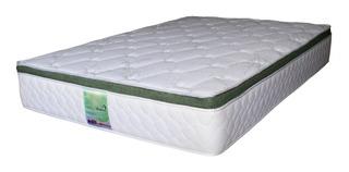 Colchon Individual Memory Foam Resortes Bamboo Bio Mattress