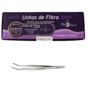 Piu Bella Kit Com 5 Pinças P/ Curvatura+fibra De Vidro 50un