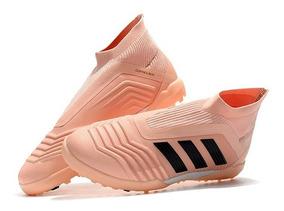 Chuteira Society adidas Predator 18 Rose Original :