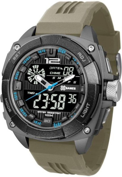 Relógio Xgames Xport Masculino Cinza Digital Xmppa260pxfx