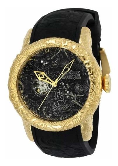 Relógio Masculino Invicta Yakuza Automatico 25082 +brinde