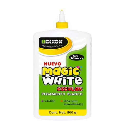 Pegamento Blanco Magic White 500 G Paquete C/5