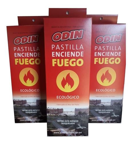Pastillas Enciende Fuego Odin Promo Por 3 Cajas