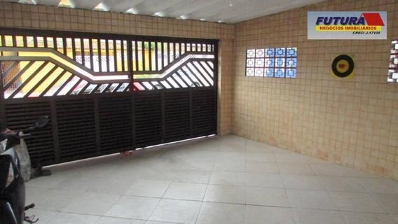 Casa Com 2 Dormitórios À Venda, 67 M² Por R$ 350.000,00 - Esplanada Dos Barreiros - São Vicente/sp - Ca0418