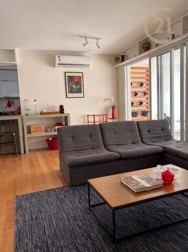 Apartamento Com 2 Dormitórios Para Alugar, 85 M² Por R$ 6.900,00/mês - Sumaré - São Paulo/sp - Ap24077
