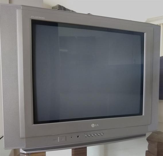 Televisão Flatron 21 Polegadas 21fx5rl - Tela Plana