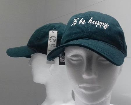 Boné Dad Hat - To Be Happy