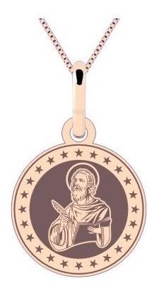 Medalha São Marcos Ouro Rosê