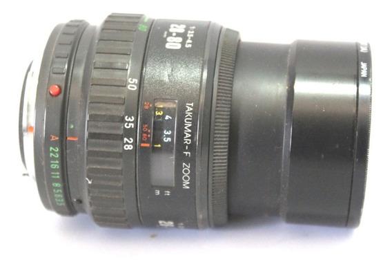 Lente Takumar 28-80mm Japan Retro Coleção Retirada De Peça