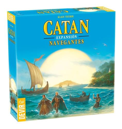 Juego de mesa Catan Navegantes (Expansión) Devir