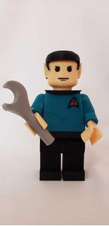 Muñecos Lego Gigantes Marvel Dc Impreso 3d