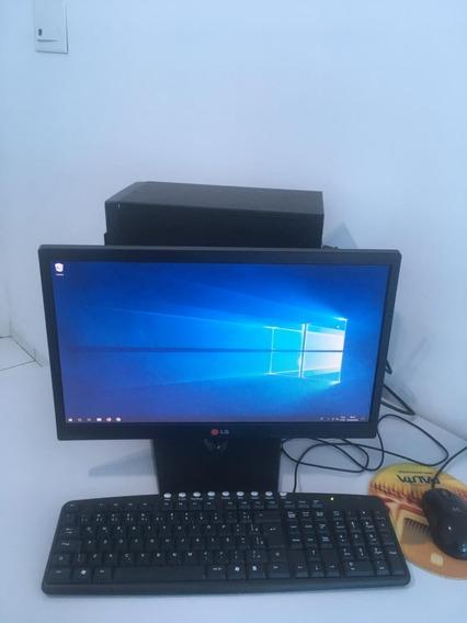 Computador Desktop I3 4gb 500hd Wifi Completo