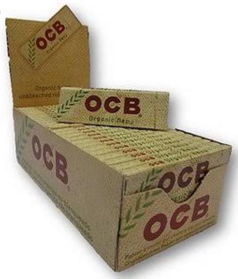 Caixa Seda Ocb Organic 1 1/4 - Frete Gratis 12x S/ Juros