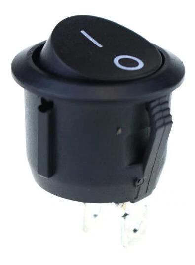 Switch Interruptor Redondo 2 Pines 16mm 250v 3a / 125v 6a