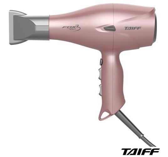 Secador Cabelo Taiff Fox Íon 3 02vel 2200w Rose Secfox3 110v
