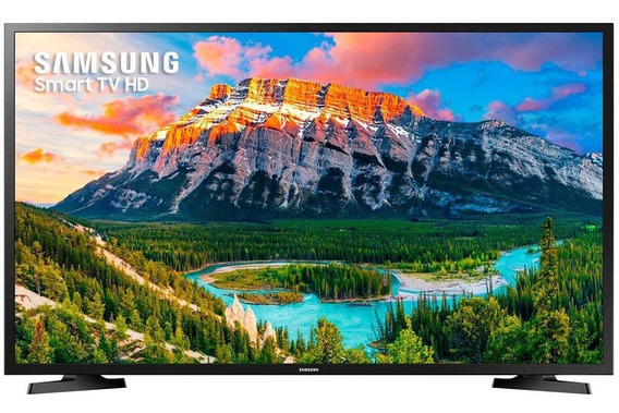 Smart Tv Led Samsung 32 32j4290, Hd, 2 Hdmi, 1 Usb, Mor
