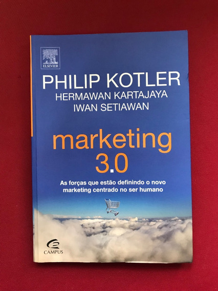 Livro - Marketing 3.0 - Philip Kotler - Ed. Campus