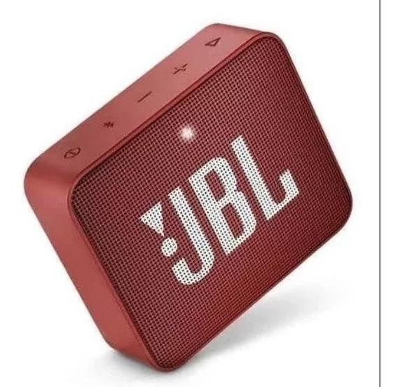 Alto-falante Jbl Go Go 2 Portátil Sem Fio Ruby Red
