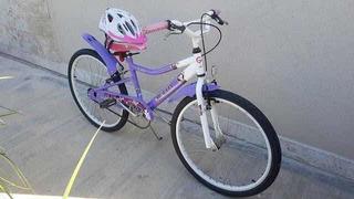 Bicicleta De Niña Rin 24