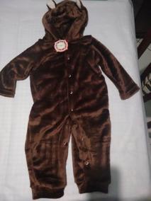Macacão Urso Bebê Recém-nascido A 2 Anos Estilo Parmalat