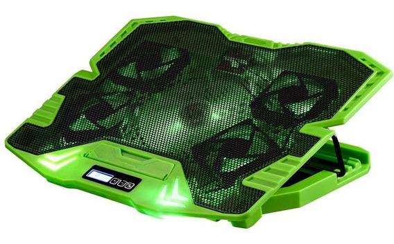 Base Gamer Warrior Master Cooler Para Notebook - Multilaser