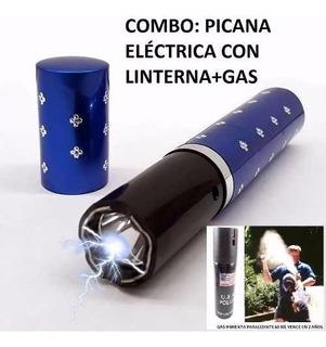 Kit De Picana Tipo Perfumero Dama + Gas Pimienta Oferta !!